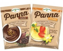 Here is the new, no-cook Panna cream pudding!